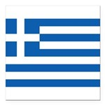 Greece.jpg Square Car Magnet 3