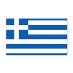 Greece.jpg Rectangle Car Magnet