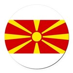Macedonia.jpg Round Car Magnet
