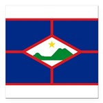 Sint Eustatius.jpg Square Car Magnet 3