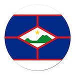 Sint Eustatius.jpg Round Car Magnet
