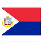 Sint Maarten.jpg Square Car Magnet 3