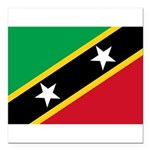 Saint Kitts and Nevis.jpg Square Car Magnet 3