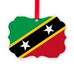 Saint Kitts and Nevis.jpg Picture Ornament