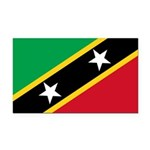 Saint Kitts and Nevis.jpg Rectangle Car Magnet