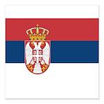 Serbia.jpg Square Car Magnet 3