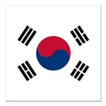 South Korea.jpg Square Car Magnet 3
