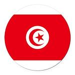 Tunisia.jpg Round Car Magnet