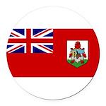 Bermuda.jpg Round Car Magnet