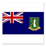 British Virgin Islands.jpg Square Car Magnet 3
