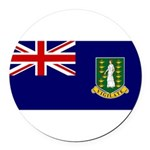 British Virgin Islands.jpg Round Car Magnet