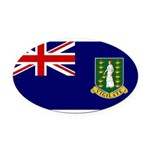 British Virgin Islands.jpg Oval Car Magnet