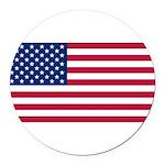 United States.jpg Round Car Magnet