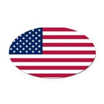 United States.jpg Oval Car Magnet
