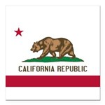 California.jpg Square Car Magnet 3