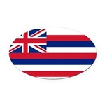 Hawaii.jpg Oval Car Magnet