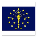Indiana.jpg Square Car Magnet 3