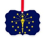 Indiana.jpg Picture Ornament