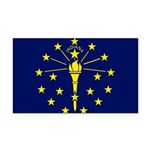 Indiana.jpg Rectangle Car Magnet