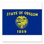 Oregon.jpg Square Car Magnet 3