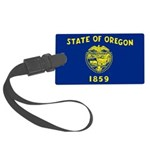 Oregon.jpg Large Luggage Tag