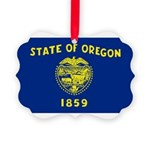 Oregon.jpg Picture Ornament