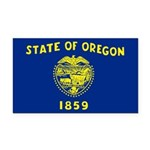 Oregon.jpg Rectangle Car Magnet