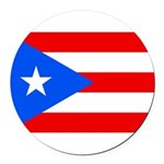 Puerto Rico.jpg Round Car Magnet