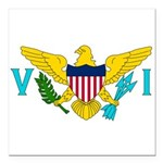 U.S. Virgin Islands.jpg Square Car Magnet 3