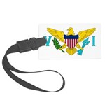 U.S. Virgin Islands.jpg Large Luggage Tag