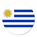 Uruguay.jpg Round Car Magnet