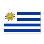 Uruguay.jpg Rectangle Car Magnet