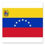 Venezuela.jpg Square Car Magnet 3
