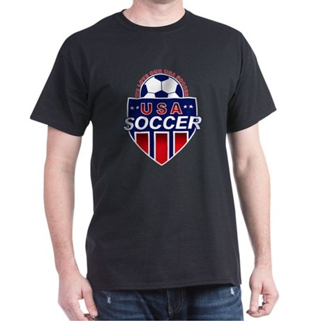 USA Soccer Black T-Shirt
