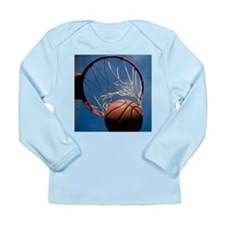 Basketball Long Sleeve Infant T-Shirt