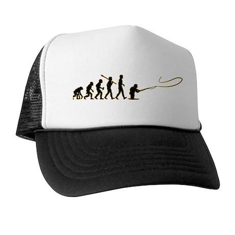 Fly fishing trucker hat by apestoman for Fly fishing trucker hat
