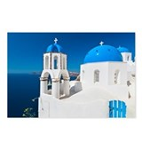 Greece, Cyclades Islands, Santorini, Oia, Church w