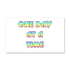 One Day At A Time Car Magnet 20 x 12