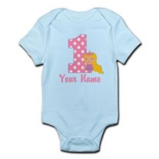 1st Birthday Princess 2 Infant Bodysuit
