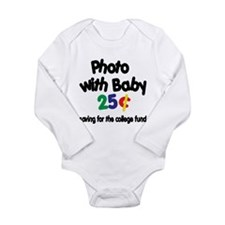 Cute Funny photo Long Sleeve Infant Bodysuit