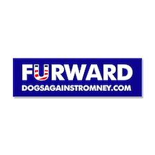 """Official DAR """"FURWARD"""" bumper manget"""