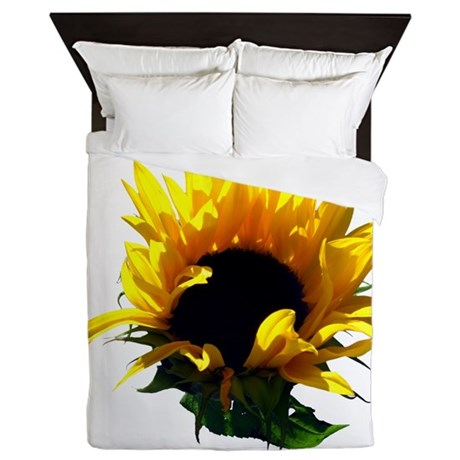 Sunflower Sunrise Queen Duvet