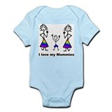 Cute Glbt families Infant Bodysuit