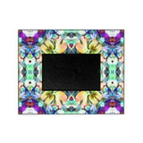 Four Flower Kaleidoscope Picture Frame