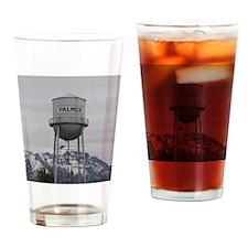 Palmer Town, Alaska Water Tower Drinking Glass