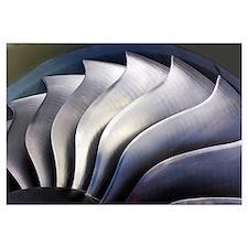 S-curve fan blades