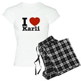 I Love Karli pajamas