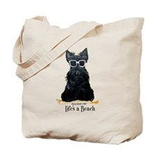 Scottie Beach Tote Bag