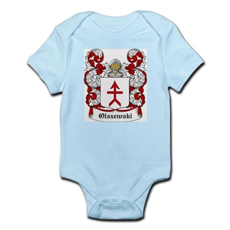 Olszewski Coat of Arms Infant Creeper