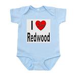 I Love Redwood Infant Creeper